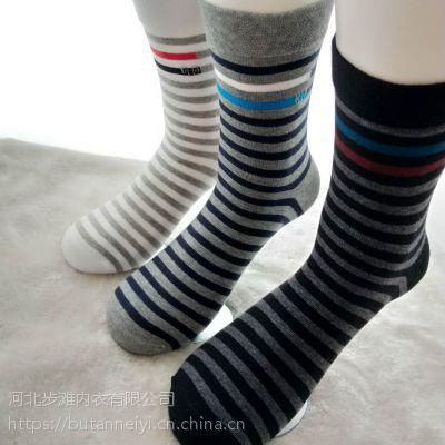 加工订做 男女纯棉袜 秋冬高筒袜子商务袜子OEM