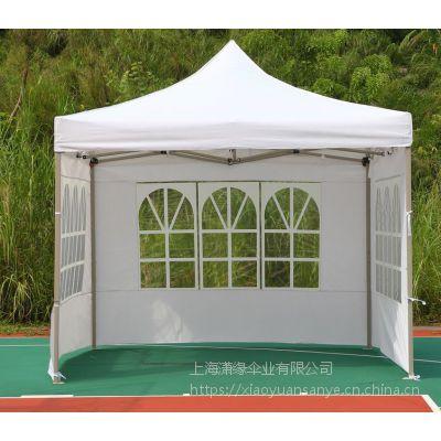 带门窗的折叠帐篷、有透明窗的帐篷定制、开门开窗的广告帐篷制作