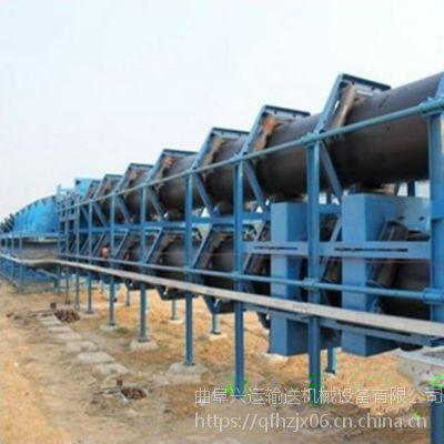 管带输送机更大的倾斜输送能力 多用途