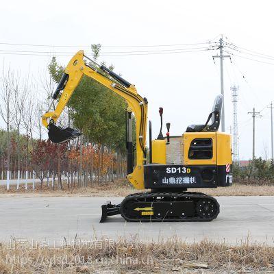 江西吉安农用挖土机供应 2019新款果园农用挖沟机图片