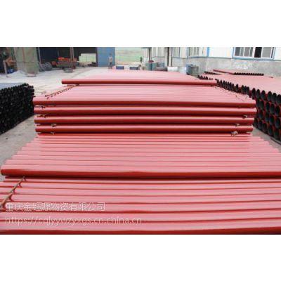 重庆柔性铸铁管自备库存千吨-W型铸铁管-B型铸铁管-A型铸铁管-管件齐全专业批发