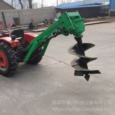 新款园林地钻机富兴-园林种植挖坑机-曲阜专业植树挖坑机