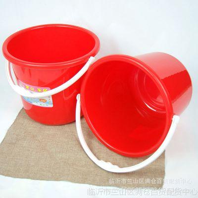 家用塑料提水桶活动促销赠品地摊赶集热卖五元店日用百货货源