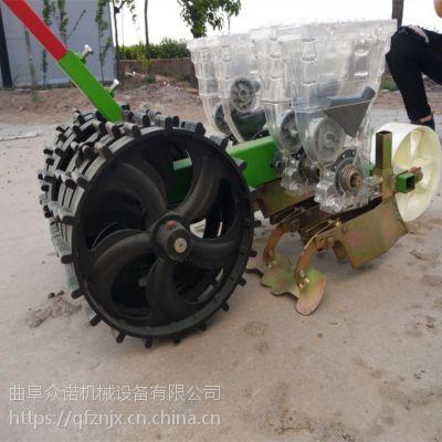 玉米花生大豆黄豆角播种机 多功能可视种植机