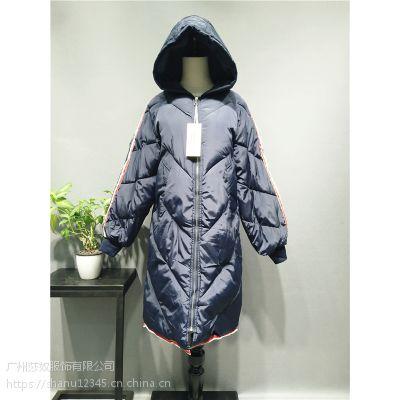 2018年新款棉服冬季保暖女装折扣走份拿货店货源走份批发