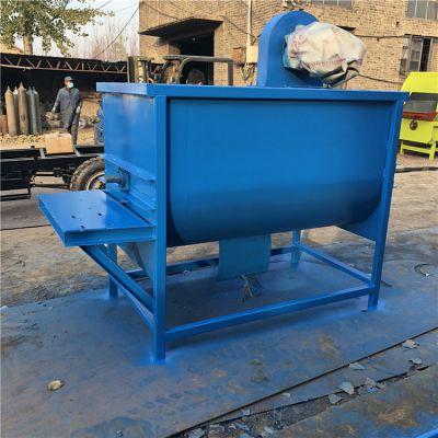 小型固定式搅拌机牧场 304不锈钢混料机 殖场饲料加工搅拌机