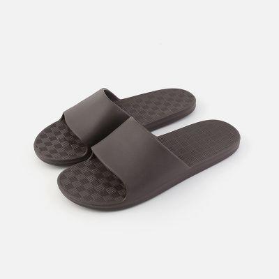 2018年新款冲凉浴室拖鞋夏女家居情侣日式防滑男士洗浴拖鞋 EVA鞋底