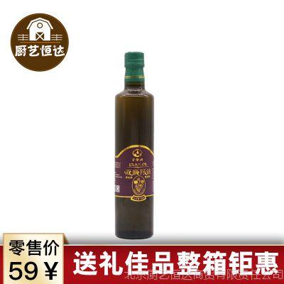 经销批发亚麻籽油亚香源食用油冷榨一级内蒙古特产500ml整箱21瓶