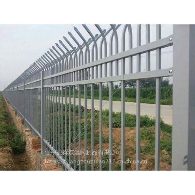 方管铁栏杆围栏@白色铁栏杆围栏@尖头铁栏杆围栏厂家