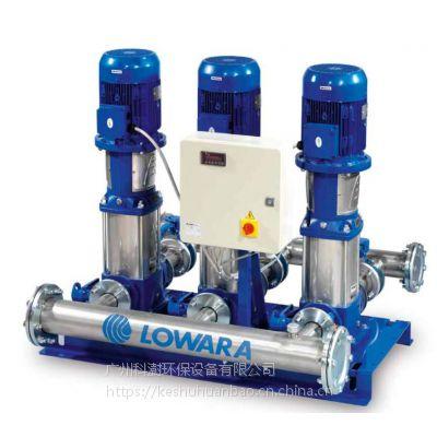 lowara(罗瓦拉)E-SV变频调速供水机组