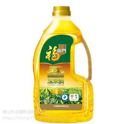 【正品保障】中粮出品 福临门玉米油1.8L 非转基因 家庭健康食用油
