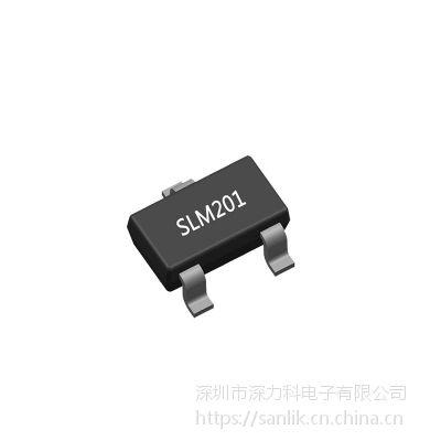 SLM201A15aa-7G 原装数眀 线性恒流LED驱动IC 24V 60mA SOT23-3