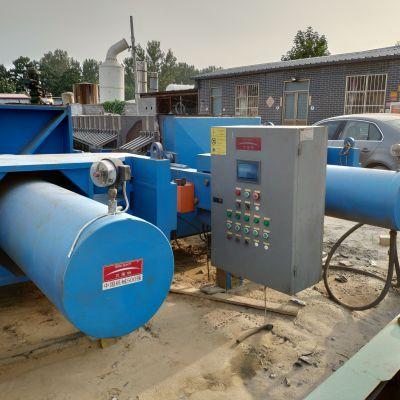 出售9成新中大贝莱特二手120平方厢式隔膜压滤机 二手水处理压滤机