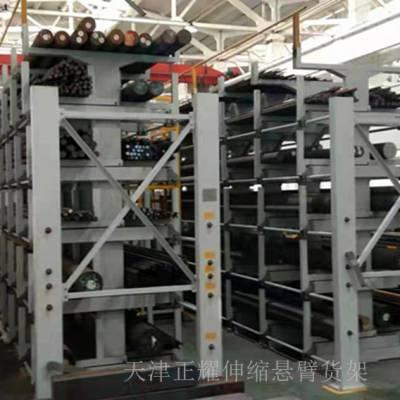 汕头重型货架厂家 伸缩悬臂货架 放管材专用