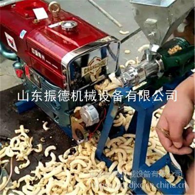 振德牌 香甜大米玉米康乐果机 菏泽批发 食品柴油电启动膨化机 自动切断型江米棍机