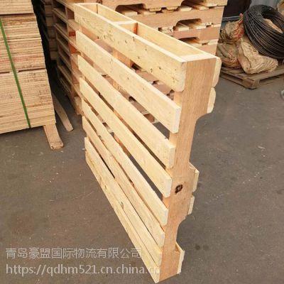 胶州木托盘 出口尺寸定做物流运输包装专用木垫板