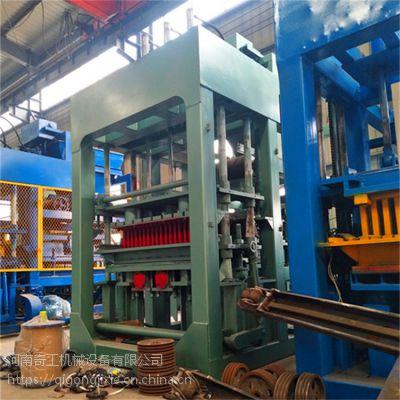 彩砖机生产线 海绵透水步道砖机 多功能路面透水砖机 水泥面包砖机厂家