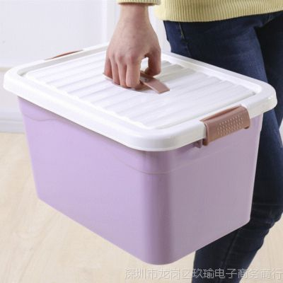 抽屉式收纳箱透明多层装衣服衣柜组合整理盒家用玩具大号塑料箱子