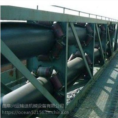 管状带式输送机输送各种粒状物料 厂家直销