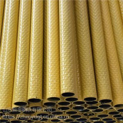 烟台花纹管生产厂家~菱形花纹管#面叶钢管现货