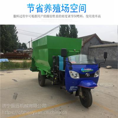 厂家批发销售牛羊撒料车 运送饲草投料车