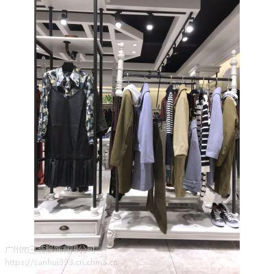 广州女装品牌折扣外套套装连衣裙专柜货源一线品牌特卖