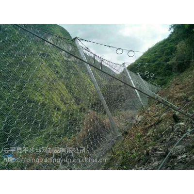 山坡防滚落网生产厂家在公路、铁路、矿山、河道、旅游胜地、水电工程和市政工程中得到广泛应用