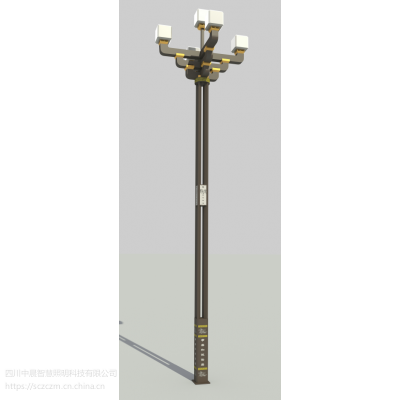 什邡LED斗拱路灯丶松潘LED景观道路灯-中晨智慧照明