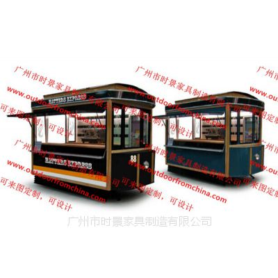 木制售货车荆门流动售货车 新乡移动售货车设计外卖售货车