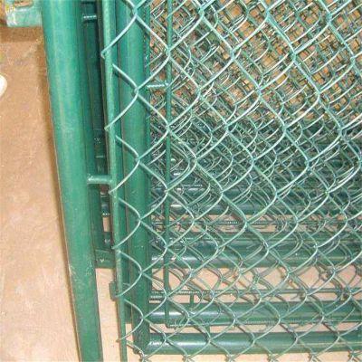 体育场勾花网 围墙护栏 室外球场围网