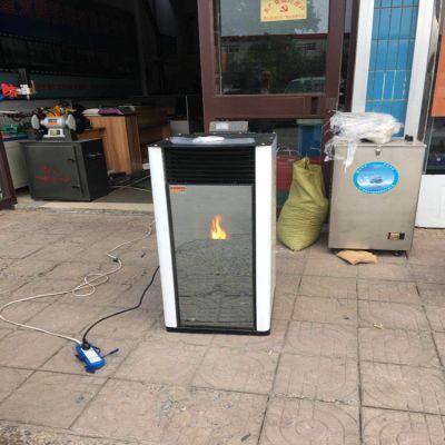 济南 生物质颗粒取暖炉 颗粒采暖炉 恒美百特现货