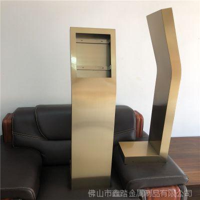 采购可视对讲不锈钢支撑台 定做可视对讲机立柱生产厂家