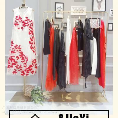 深圳高端设计师品牌合一创意女装19年夏装品牌折扣女装高端女装店进货渠道