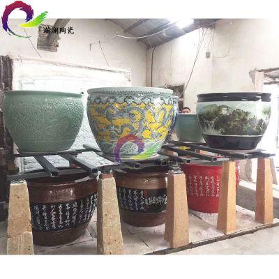 商务礼品陶瓷大缸 家居装饰品陶瓷大缸 景德镇陶瓷大缸