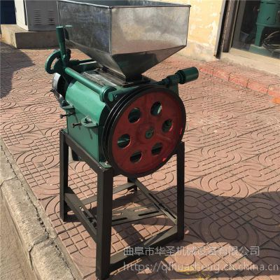 专业生产豆子压扁机 新款黄豆挤扁机 小麦豆子挤扁机