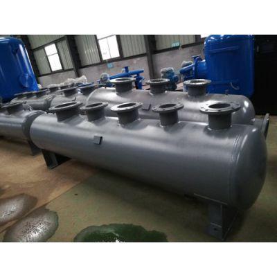 天津碳钢分集水器、分水器、集水器厂家定做BeFJ