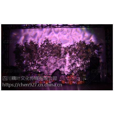 四川藕叶logo灯投影灯水纹灯