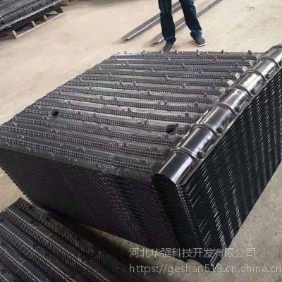 隆华蒸发冷填料 1500宽PVC淋水填料 斜角淋水片