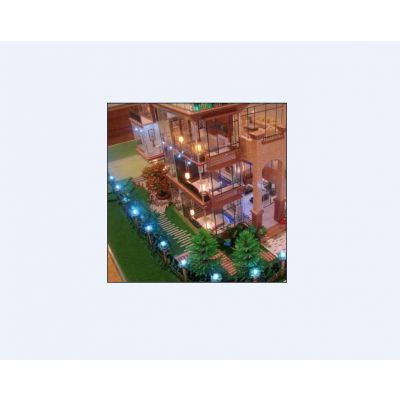 供青海建筑模型和德令哈建筑外观模型