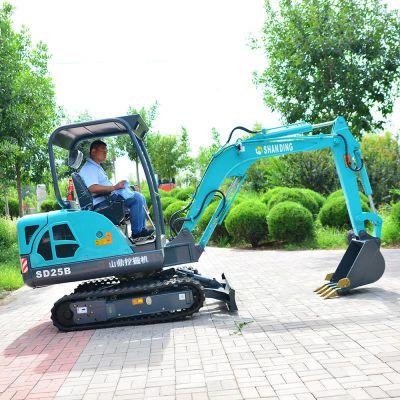 农用履带挖掘机环保 保质多功能小型挖掘机
