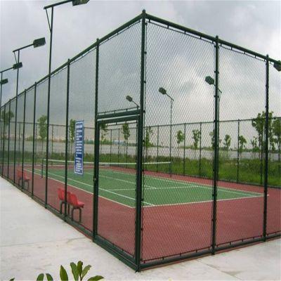 篮球场围栏网 体育场围网 勾花护栏加工