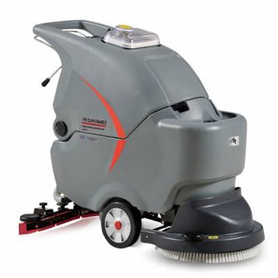 高美手推式洗地机GM50B淮安超市商场使用自动洗地机