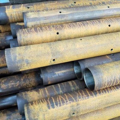 隧道注浆用钢花管 管棚管 钢锚管 批发超前小导管 量大从优