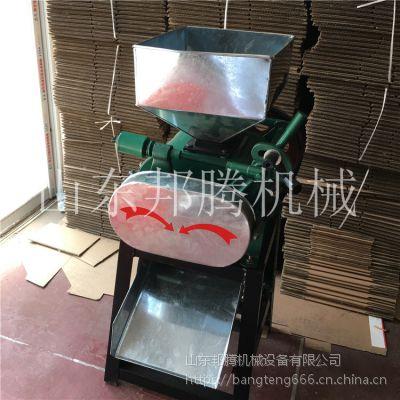 邦腾燕麦片压挤扁机 高粱小麦挤扁机 高效大型花生破碎机