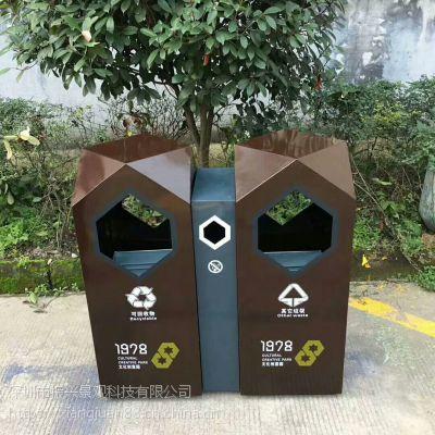 成都 铁皮垃圾桶 价格优可按垃圾桶样品图纸【振兴优质正品】