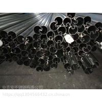 佛山业志安 不锈钢槽管 异型不锈钢槽管 凹槽管 不锈钢单槽管