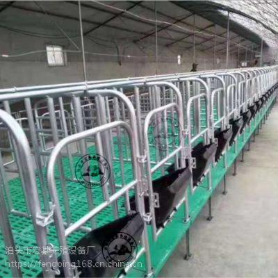 定位栏厂家复合板限位栏生产定做母猪单体保胎栏
