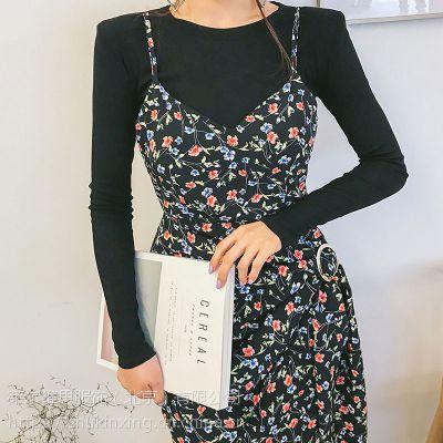 艾安琪北京大品牌服装尾货批发市场在哪里 秋季女装品牌折扣尾货酒红色大衣