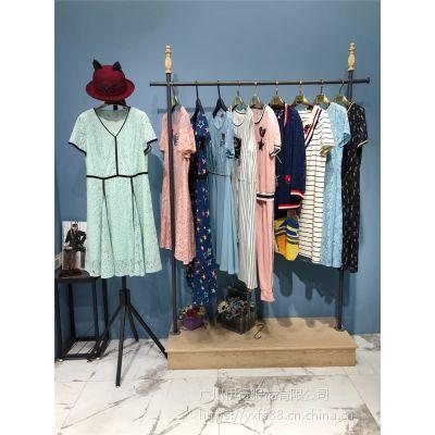 香港一线品牌撤柜折扣货源宝莱国际女装份货哪里批发便宜
