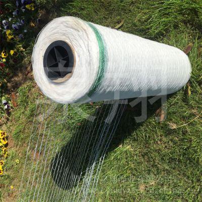 圆捆机打包专用捆草网稻草秸秆自动捡拾机生产厂家塑料PE网
